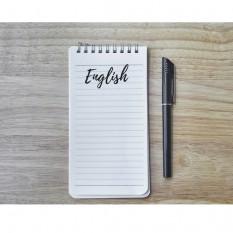 5 individualūs anglų kalbos užsiėmimai (po 60 min.) lankant tryse (kaina 1 asmeniui)
