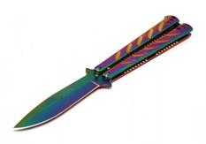 Balisong Albainox rainbow