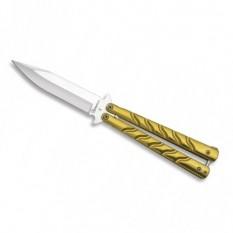 Balisong Martinez Albainox Gold 02123