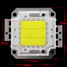 Šviesos diodas 20W, 1600 lm 120°
