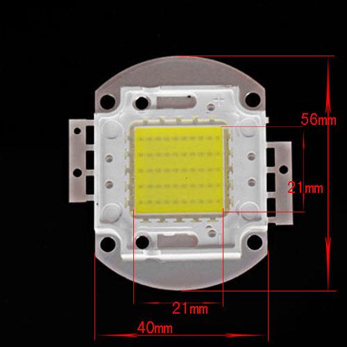 Šviesos diodas 50W, 4500 lm 120°