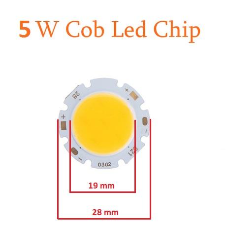Šviesos diodas COB 5W, 460 lm