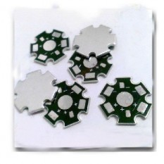 Aliuminio baze 1w led diodui
