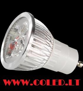 GU10 Led lemputė 6W