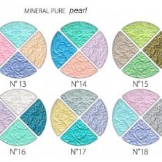 Akių šešėliai MINERAL PURE matiniai / blizgūs 8 gr (4 spalvų rinkiniai)