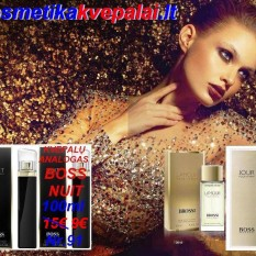"HUGO BOSS  ""NUIT"" 50ml (6€) ir 100 ml (9€) (Analogai)"