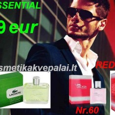 """LACOSTE RED """"STYLE IN PLAY""""   100 ml   EDT   Kvepalai vyrams (Analogas)"""
