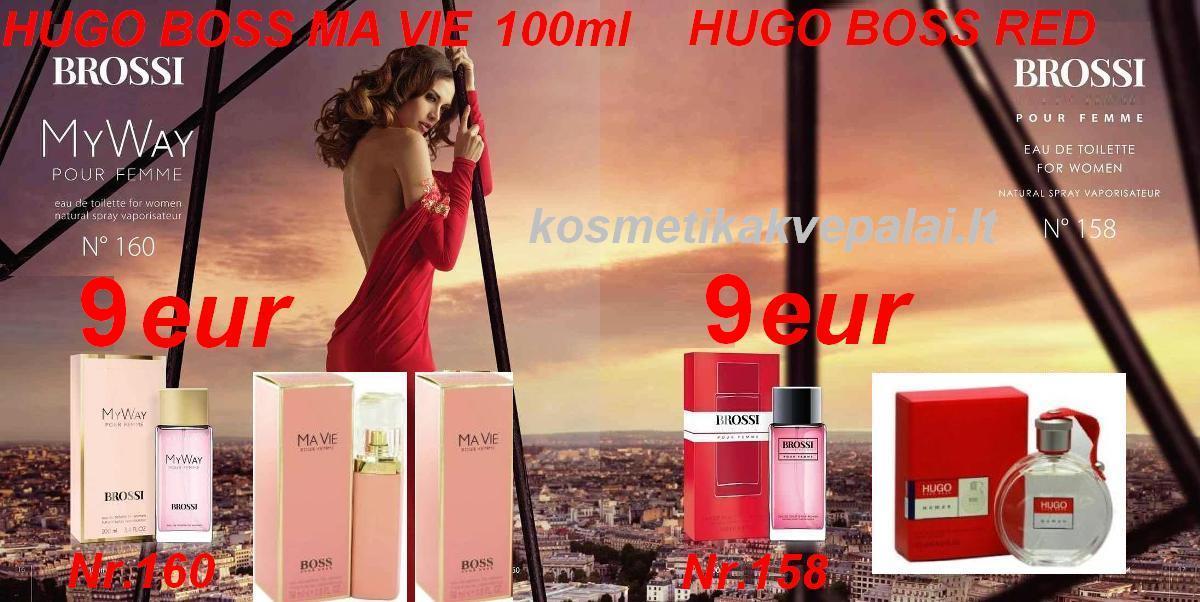 """HUGO BOSS """"RED"""" for women   100 ml   EDT   Kvepalai moterims (analogas)"""