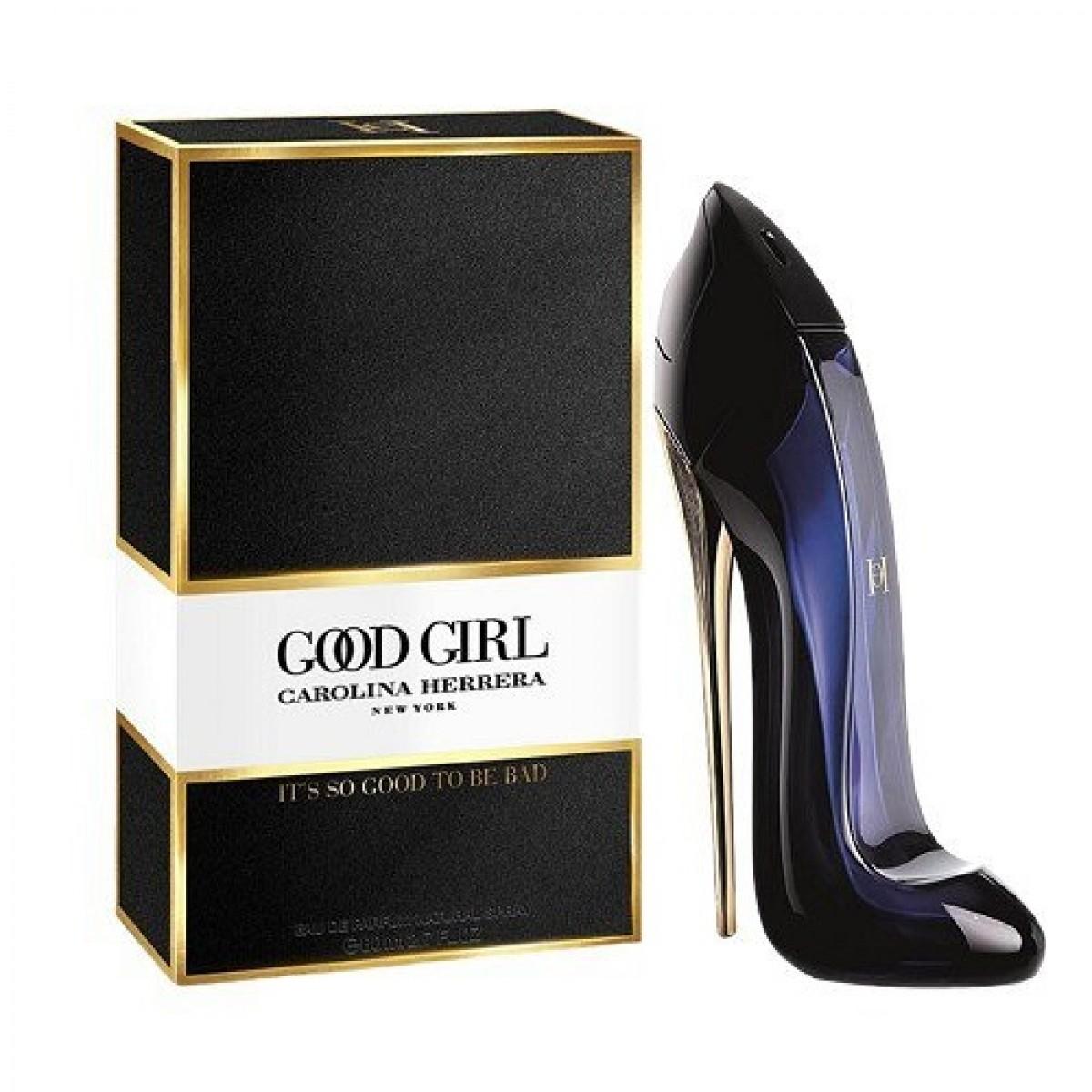 """Carolina Herrera """"Good Girl""""   80 ml   EDP   Kvepalai moterims. APRAŠYMĄ RASITE PASPAUDUS ANT NUOTRAUKOS."""