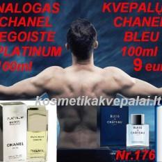 "CHANEL "" EGOISTE PLATINUM "" 50 ml ir 100 ml     EDT   Kvepalai Vyrams (analogas)"