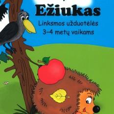 EŽIUKAS.  Užduotėlės 3–4 metų vaikams
