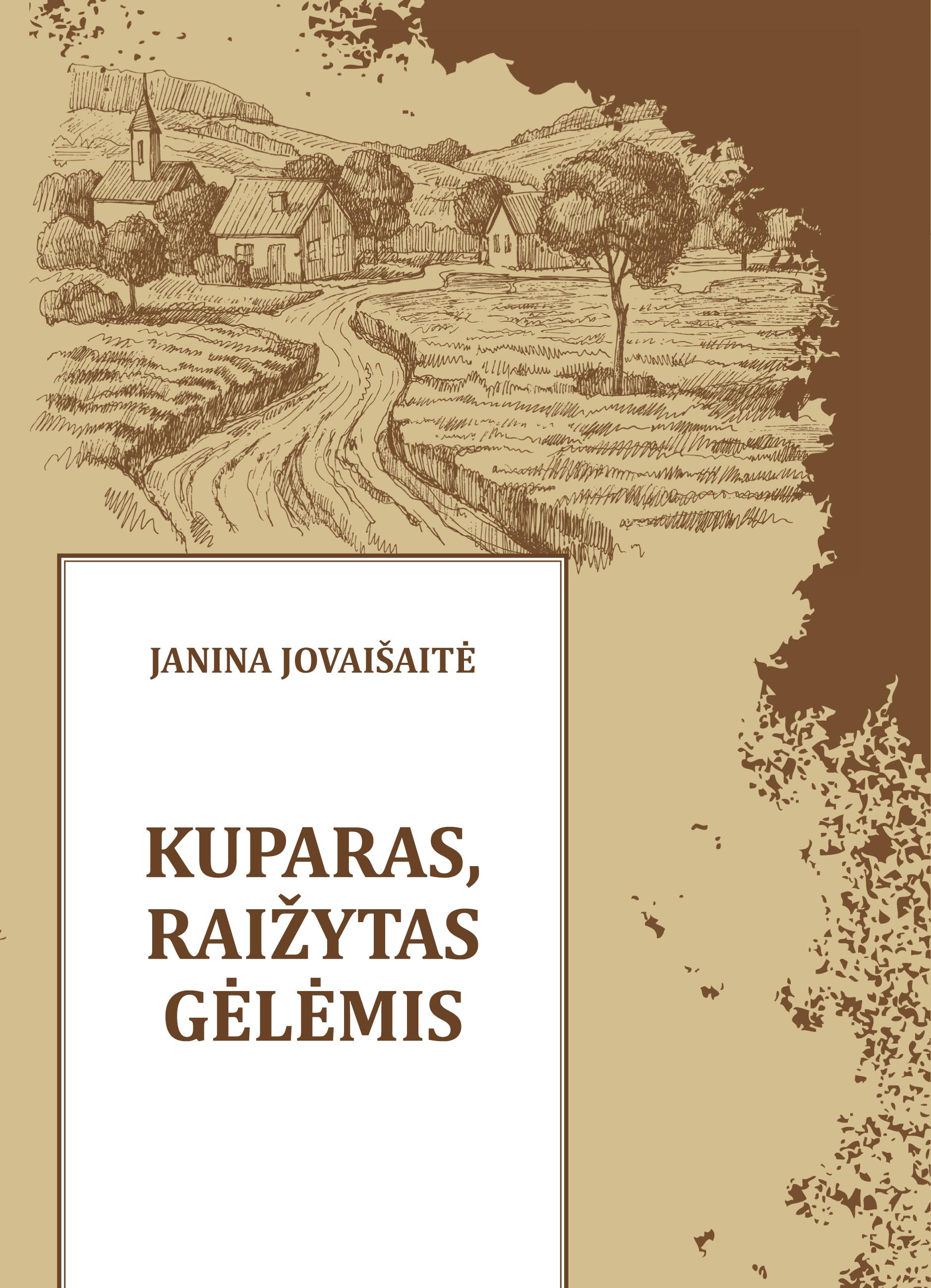 Janina Jovaišaitė.  KUPARAS,  RAIŽYTAS  GĖLĖMIS