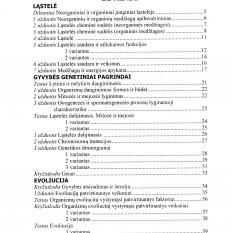 BIOLOGIJA. Testai. Užduotys. Kryžiažodžiai. 11-12 klasių bendrajam kursui