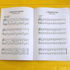 R. Bakulienė. Pjesės mažiesiems akordeonistams.