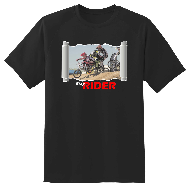 Marškinėliai BMX Rider