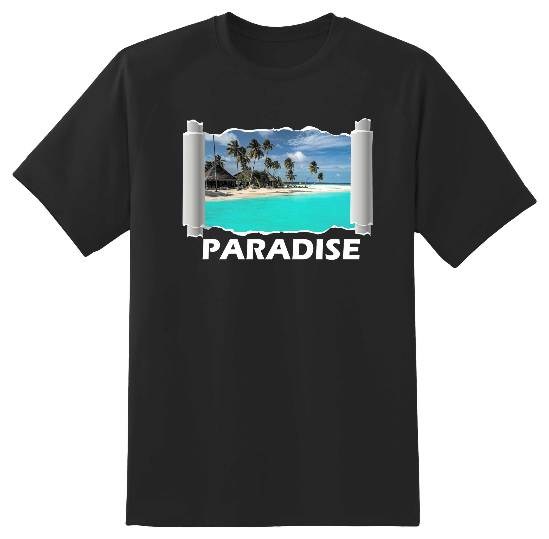Marškinėliai Paradise