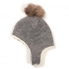 Vilnonė kepurė 6-12 mėnesių mažyliui, modelis 34A17