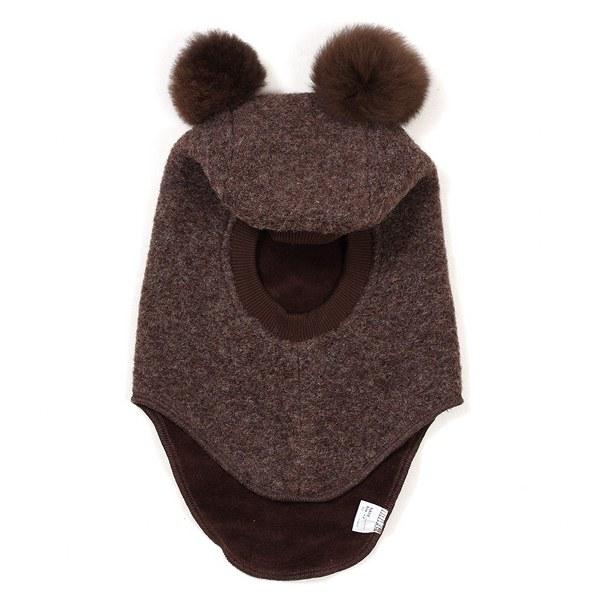 Vilnonė kepurė-šalmas (dvigubas sluoksnis), modelis 3517RR