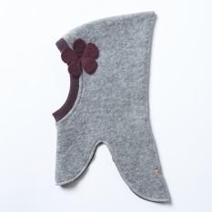 Vilnonė kepurė-šalmas (dvigubas sluoksnis), modelis 02