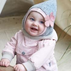 Vilnonė kepurė-šalmas (dvigubas sluoksnis), modelis 0417