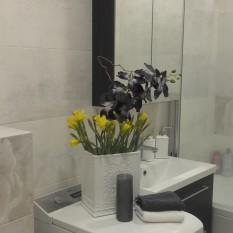 Klientė Aida ,Panevėžys, vonia 4  m²