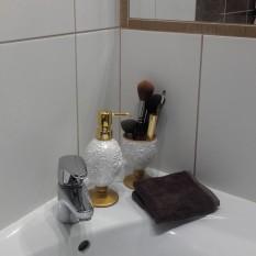 Klientė Ina, Vilnius, vonia 5 m²