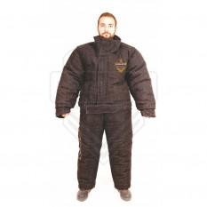 Apsauginio kostiumo viršutinė dalis juodos spalvos (prekė užsakoma)