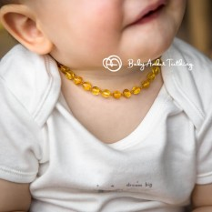 Gintarinis vėrinys mažyliui