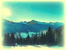 Davos Swiss Panorama Canvas