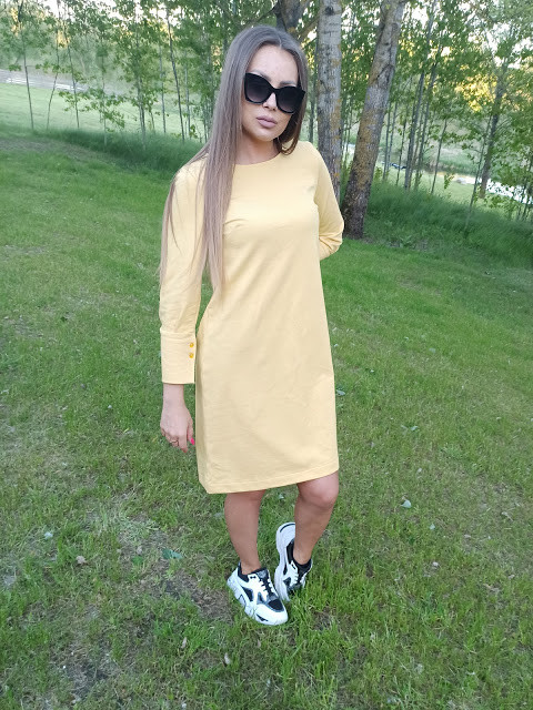"""Suknelė """"Geltona vasara"""""""