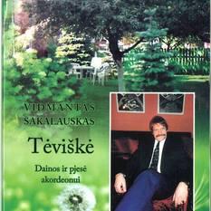 Vidmantas Sakalauskas. Tėviškė. Dainos ir pjesė akordeonui+ CD