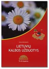 Jonas Ambrukaitis  Lietuvių kalbos užduotys 5-6 klasėms. 4 dalis (mokiniams, besimokantiems pagal pritaikytas programas)