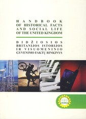 Handbook of historical facts and social life of the United Kingdom