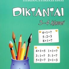 Daiva Žalienė. Matematiniai diktantai 3-4 klasei