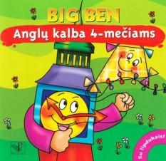Magdalena Chrzanowska. Big Ben. Anglų kalba 4-mečiams. Su lipdukais!