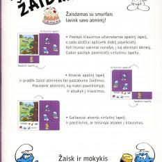 Smurfai. Atminties žaidimai Nr. 2. Žaisk ir lavink atmintį!