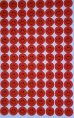Lipdukai. Raudoni veidukai