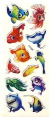 "Lipdukai ""Jūros gyvūnai"""