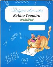 Katino Teodoro mokyklėlė. Rašymo elementai. Su defektu!