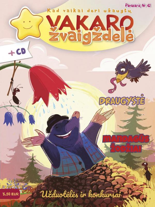 VAKARO ŽVAIGŽDELĖ. 2019 PAVASARIS NR. 42 + CD