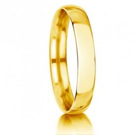 Geltono aukso vestuviniai žiedai
