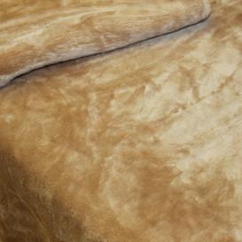 Pliušinis pledas rudas