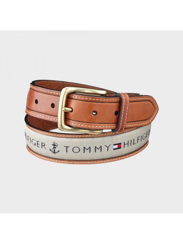 Diržas Tommy Hilfiger Men's Ribbon Inlay