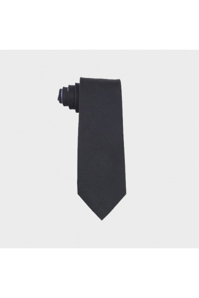 Kaklaraištis Tommy Hilfiger Men's Black Oxford Solid