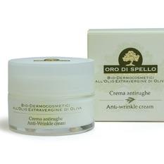 """Veido kremas nuo raukšlių """"Anti-wrinkle cream"""" ORO DI SPELLO, 50 ml"""