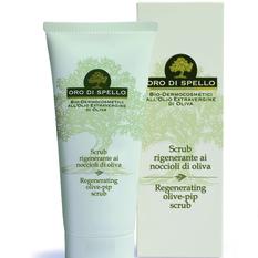 "Atstatomasis šveitiklis ""Regenerating olive-pip scrub"" ORO DI SPELLO, 100 ml"