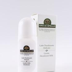 """Rutulinis švelnus dezodorantas """"Gentle Deodorant Milk"""" ORO DI SPELLO , 50 ml"""