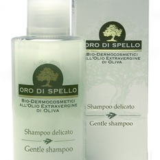 "Plaukų šampūnas ""Gentle Shampoo"" ORO DI SPELLO, 250 ml."