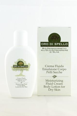 "Drėkinamasis kūno losjonas ""Moisturising Fluid Cream Body Lotion for Dry Skin"" ORO DI SPELLO, 250 ml"