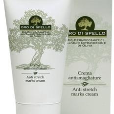 """Kūno kremas nuo strijų """"Anti stretch marks cream"""" ORO DI SPELLO, 150 ml"""